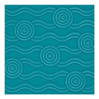 Aboriginal art reef
