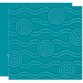 Aboriginal art reef card