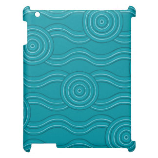 Aboriginal art reef case for the iPad 2 3 4