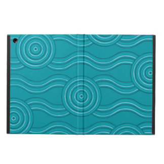 Aboriginal art reef iPad air covers