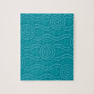 Aboriginal art reef jigsaw puzzle
