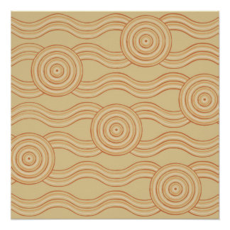 Aboriginal art sandstone