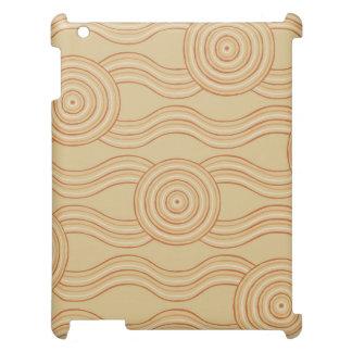 Aboriginal art sandstone case for the iPad 2 3 4