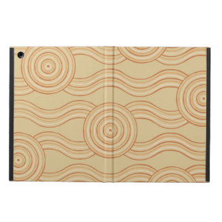 Aboriginal art sandstone iPad air case