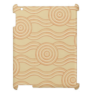Aboriginal art sandstone iPad covers