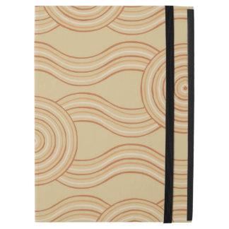 """Aboriginal art sandstone iPad pro 12.9"""" case"""