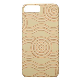 Aboriginal art sandstone iPhone 8 plus/7 plus case