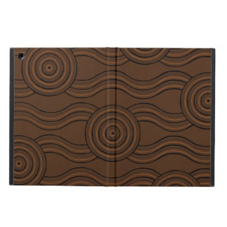Aboriginal art soil iPad air cases