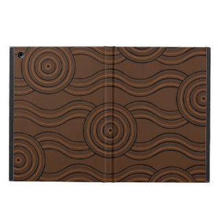 Aboriginal art soil iPad air cover
