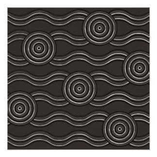 Aboriginal art storm