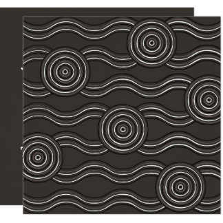 Aboriginal art storm card