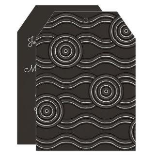 Aboriginal art storm card