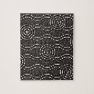 Aboriginal art storm jigsaw puzzle