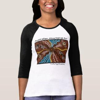 Aboriginal Art Turtle Egg Dreaming T-Shirt