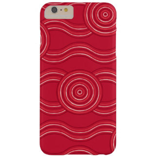 Aboriginal art waratah barely there iPhone 6 plus case