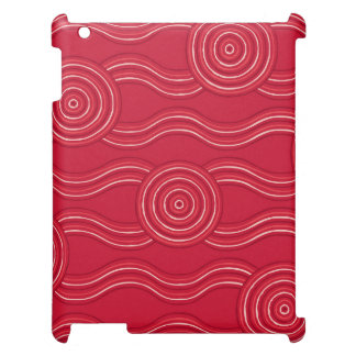 Aboriginal art waratah case for the iPad