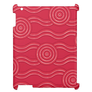 Aboriginal art waratah cover for the iPad 2 3 4