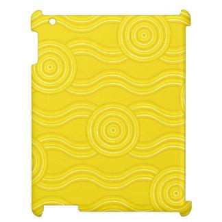 Aboriginal art wattle case for the iPad 2 3 4
