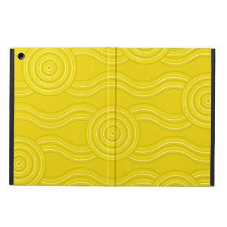 Aboriginal art wattle iPad air case