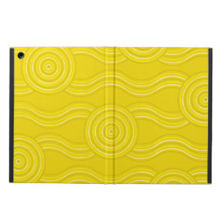 Aboriginal art wattle iPad air covers