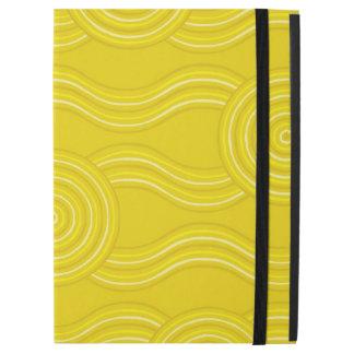 """Aboriginal art wattle iPad pro 12.9"""" case"""