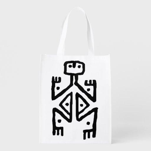 aboriginal art market tote