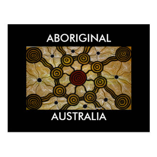 Aboriginal Australia Postcard