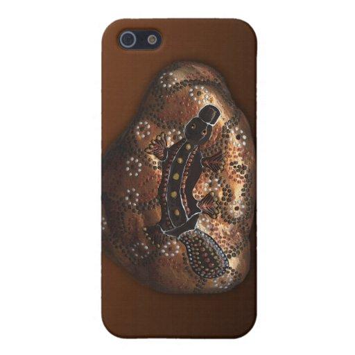 Aboriginal Australian Platypus iPhone Case iPhone 5 Cover