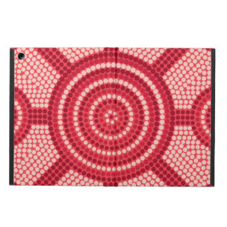 Aboriginal dot painting case for iPad air