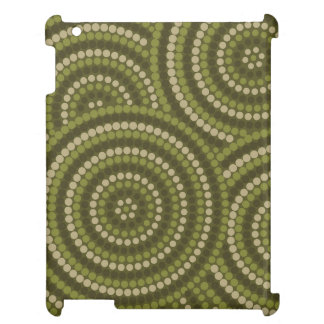 Aboriginal dot painting cover for the iPad