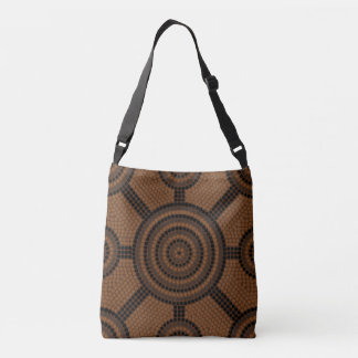 Aboriginal dot painting crossbody bag