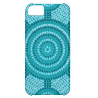Aboriginal dot painting iPhone 5C case