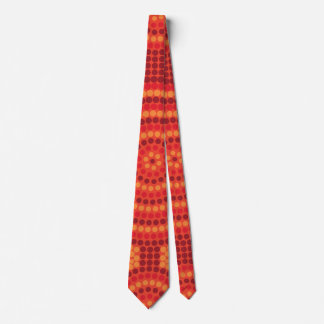 Aboriginal dot painting tie