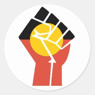 Aboriginal Fist Sticker