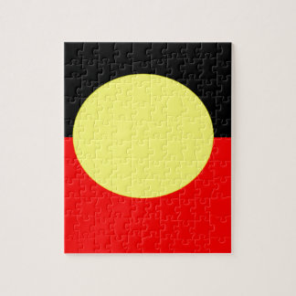 aboriginal-Flag Jigsaw Puzzle