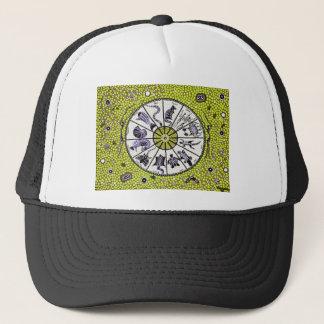Aboriginal Horoscope Yellow Cap