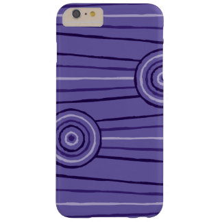 Aboriginal line and circle painting barely there iPhone 6 plus case