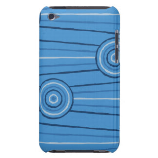 Aboriginal line and circle painting barely there iPod case