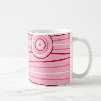 Aboriginal line and circle painting coffee mug