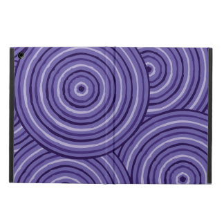 Aboriginal line painting iPad air cover