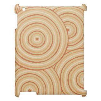 Aboriginal line painting iPad cases