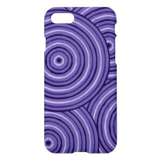Aboriginal line painting iPhone 7 case