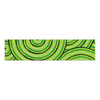 Aboriginal line painting napkin band