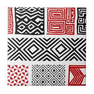 Aboriginal print nº 02 ceramic tile