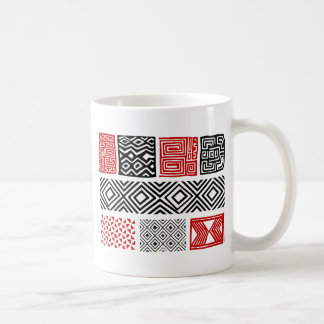 Aboriginal print nº 02 coffee mug