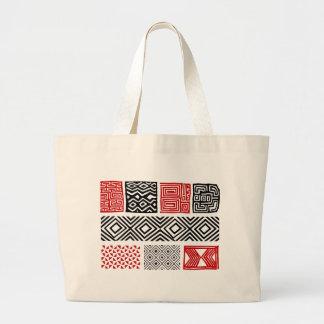 Aboriginal print nº 02 large tote bag
