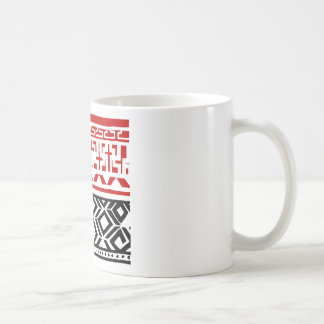 Aboriginal print nº 03 coffee mug