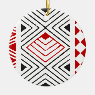 Aboriginal print nº 04 ceramic ornament