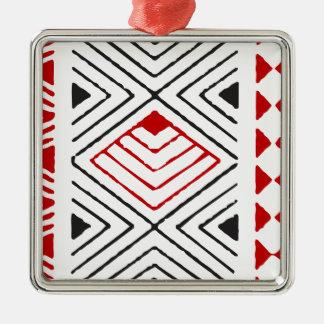 Aboriginal print nº 04 metal ornament