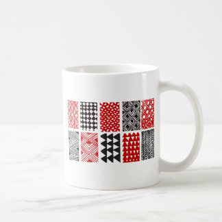 Aboriginal print nº 05 coffee mug